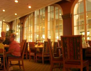 AJ's Restaurant interior
