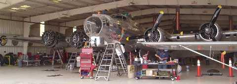 B17G in hanger