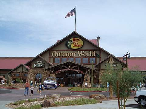 Bass Pro Shops Mesa, Outdoor World