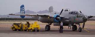 WWII warplane
