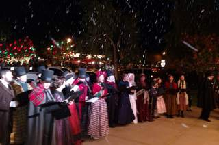 Carolers and