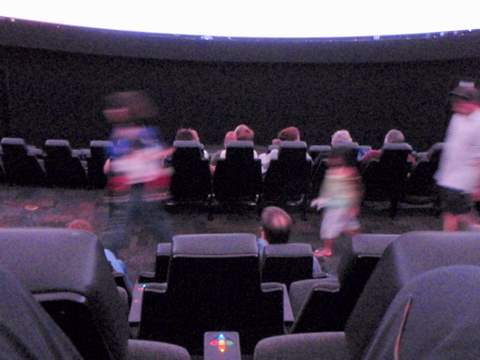 Planetarium Interior from the top row