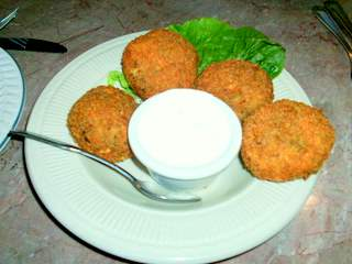 Euro Cafe Feta Dill Fritters