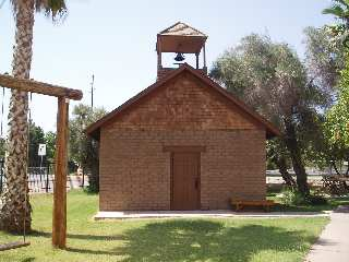 Little Adobe Schoolhouse