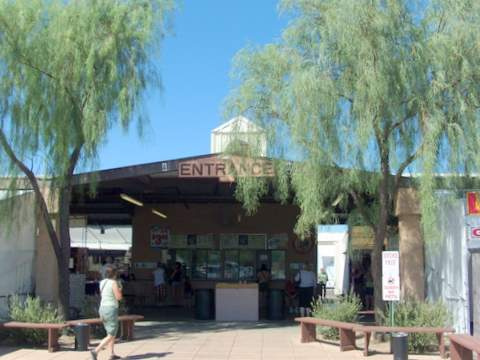 Mesa Swap Meet Entrance