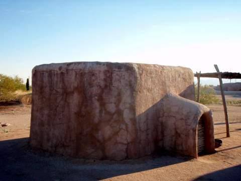 Pueblo Grande house