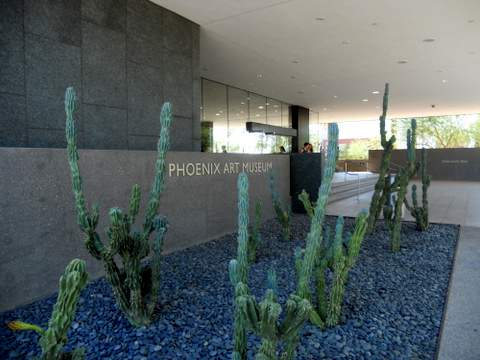 Phx Art Museum Entrance