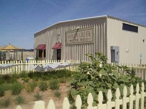 Olive Mill Building Entrance