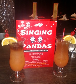 Singing Pandas Drinks