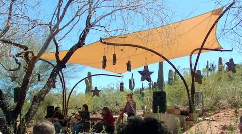 Ullman Terrace Stage