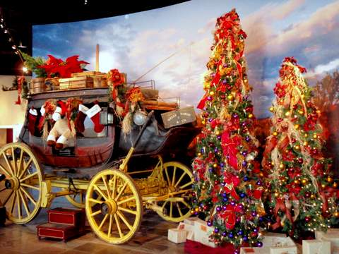 Wells Fargo Stage Coach at Christmas