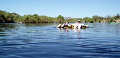 Salt River Tubing Arizona = FUN!