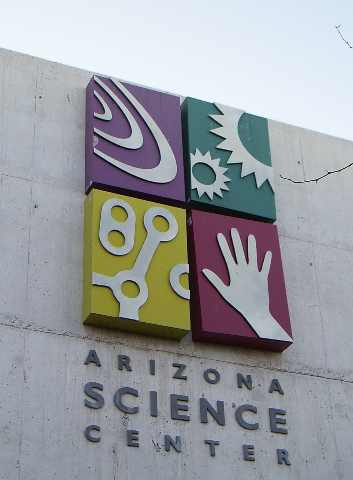 AZ Science Center Sign