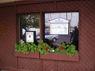 Bavarian Point Restaurant flower box
