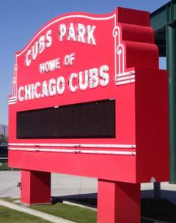 Cubs Marquee