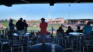 Sloan Park deck seating