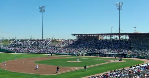 Hohokam Stadium Baseball Field
