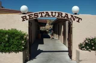 Lakeshore Restaurant parking lot entrance