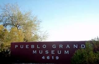 Pueblo Grande Museum Sign
