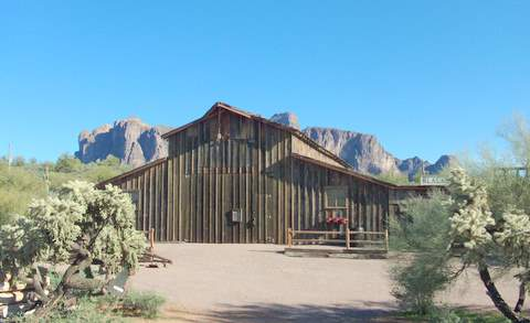Superstition Mountain Museum Barn