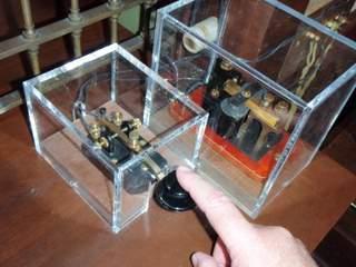 telegraph key exhibit