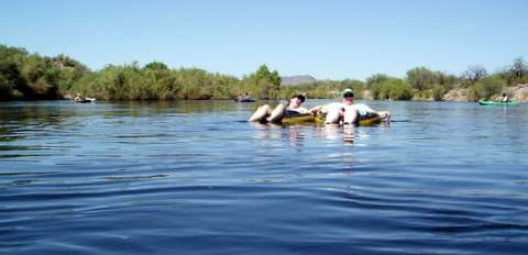 Salt River Tubing Arizona = FUN!