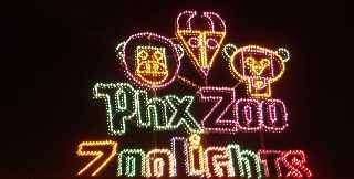 Phoenix Zoolights!